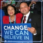 Luis with Dolores Huerta