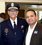 Luis with Former Watsonville Police Chief Terry Medina